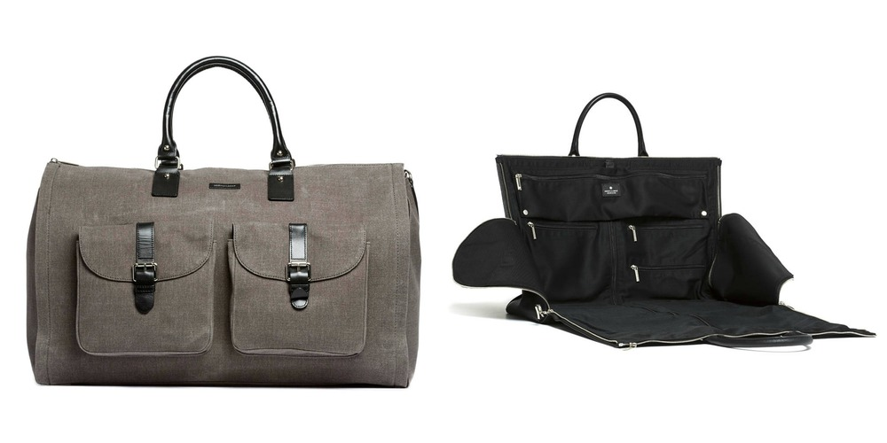 The Weekender Bag by Hook & Albert, ideal for business travel or overnights.