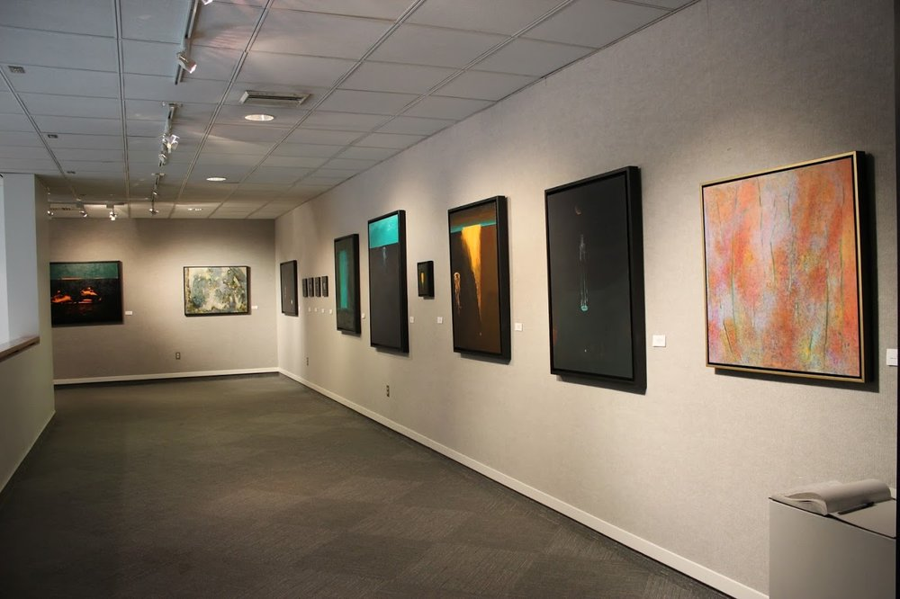 Northwestern State University, Orville Hanchey Gallery ,   Luminescence,   with  Tony McDonald , Natchitoches, LA. 1/8/15 - 1/29/15.