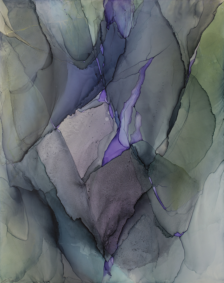 Amethyst Window