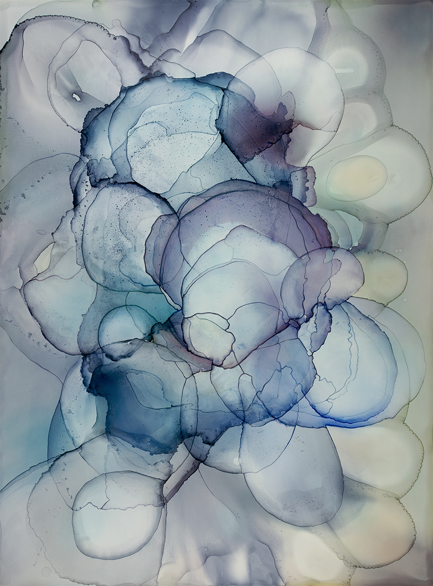 River of Orchids No. 3 (vertical)