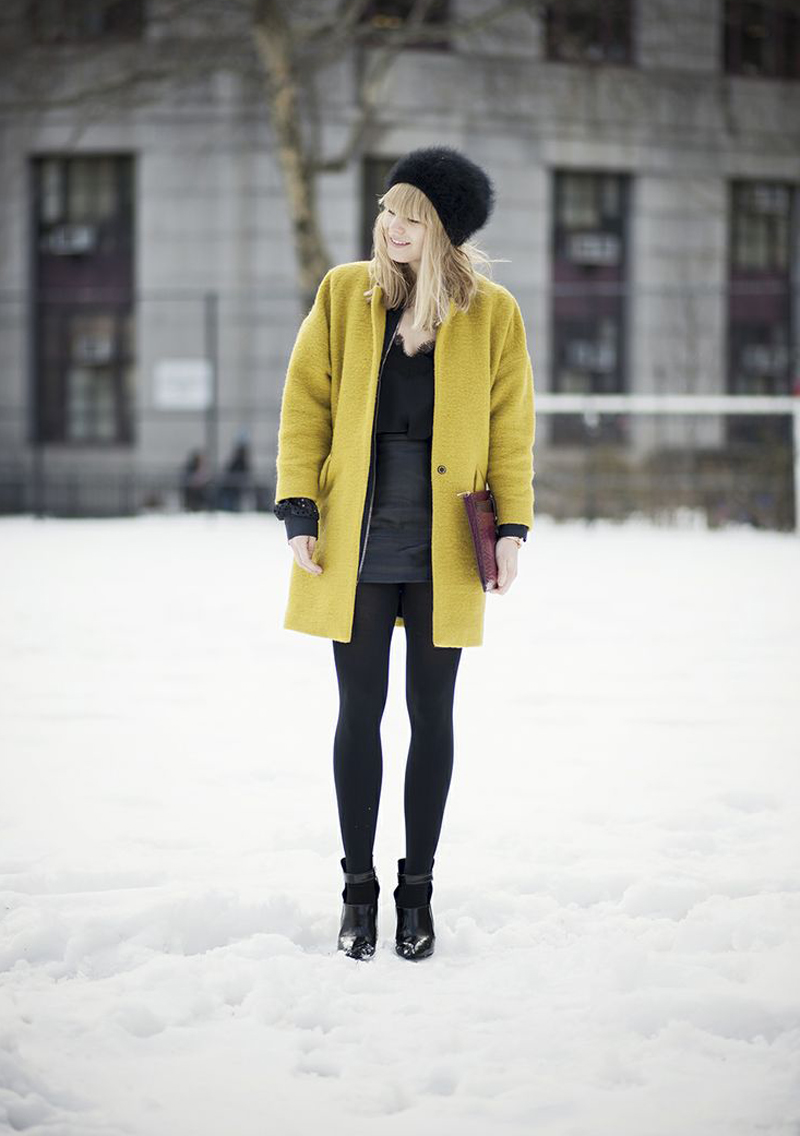 Two words: That. Coat. Head over to   Just Another Fashion Blog   to get the deets !