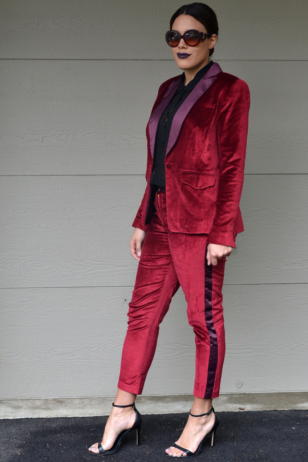 how-to-wear-altuzarra-for-target-red-velvet-blazer-and-pants-suit-set-prada-baroque-sunglasses-forever-21-black-chiffon-blouse-zara-ankle-strap-heels.jpg