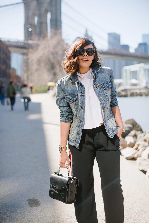 how-to-wear-zara-track-pants-like-a-fashion-girl-mules-lucite-handle-bag-how-to-style-a-denim-jacket-new-york-latina-black-fashion-blogger-celine-tilda-sunglasses.jpg