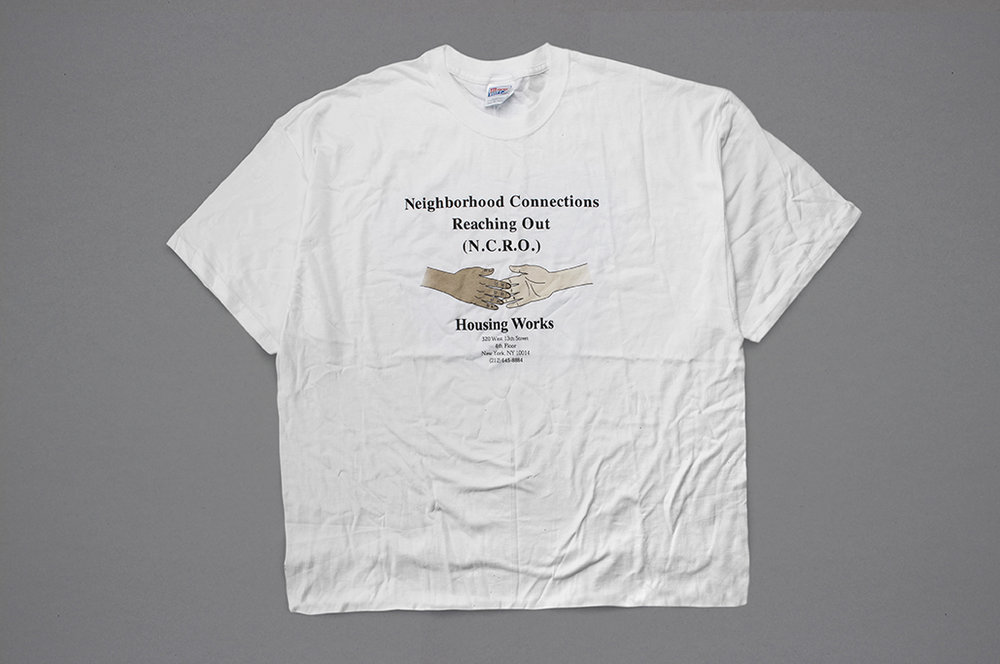 This 1996 T-shirt highlighted the new health-care facility in Greenwich Village.