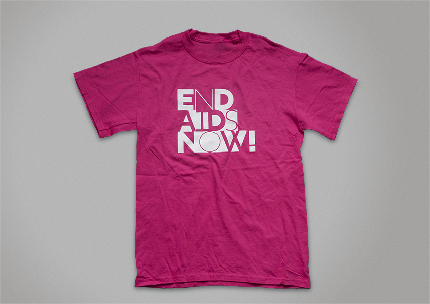 A 2011 T-shirt designed by Silas Munro.