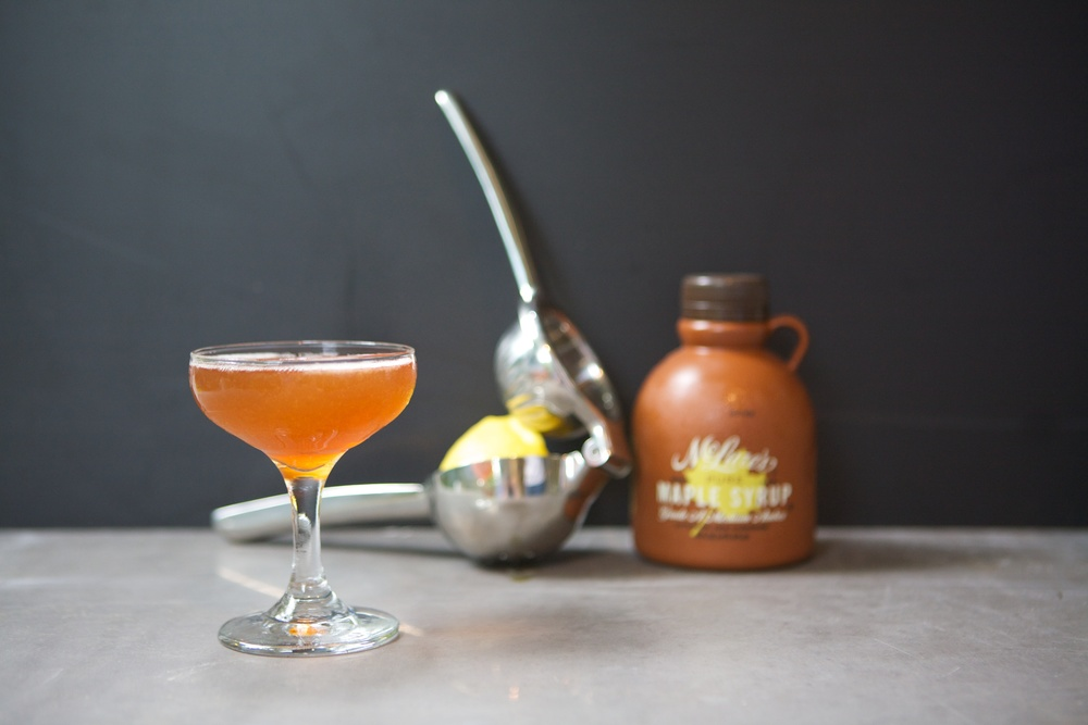 Maple Leaf Cocktail | Seattle Whiskey Collective