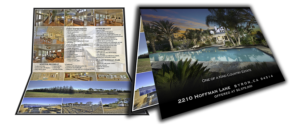 Example of our Professionally Designed Brochures