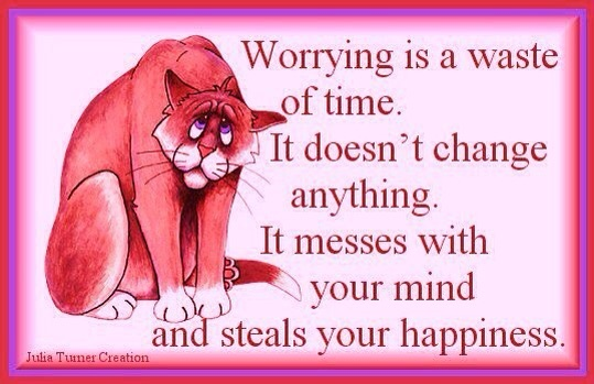 Is thinking too much causing you to worry?  Are your worries based on your construct of reality?