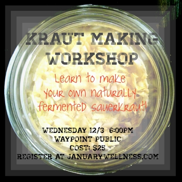 Naturally Fermented, full of probiotics for digestive healing, sauerkraut and pickles