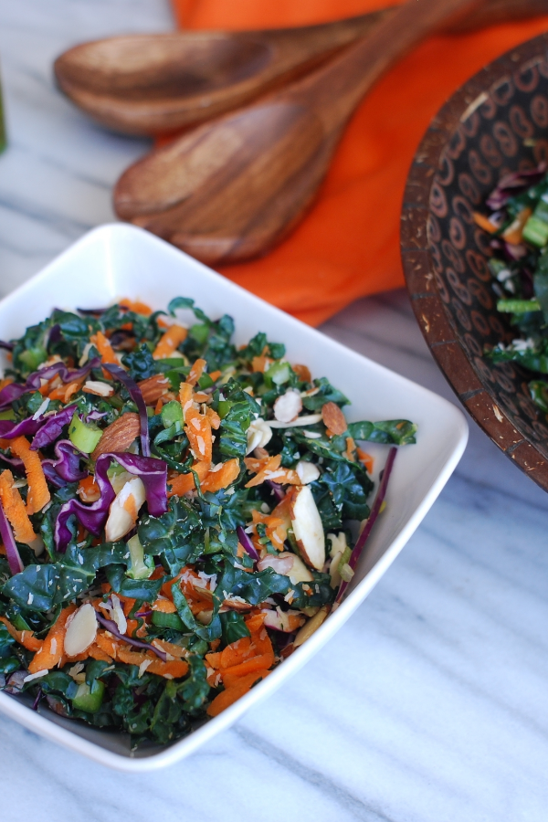 Coconut Sesame Kale Salad