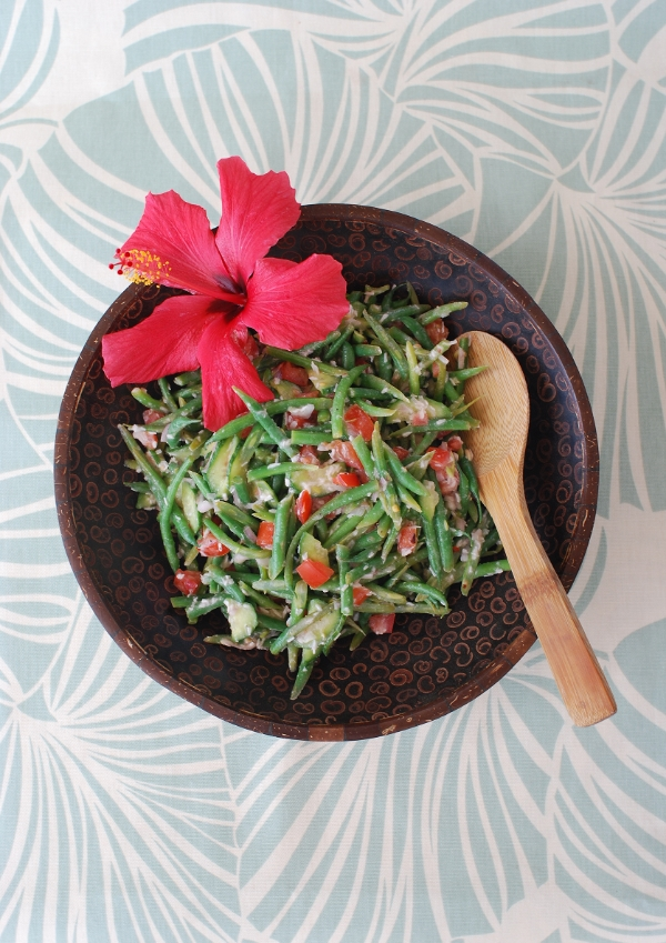Fijian Coconut Bean Salad