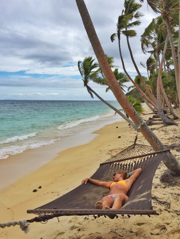 Nothing better than hammock time on a private tropical beach