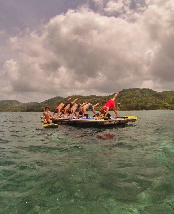The Floating Yoga Adventure