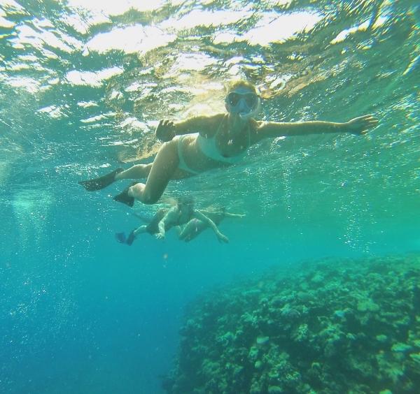 Snorkeling Namena Island Marine Reserve