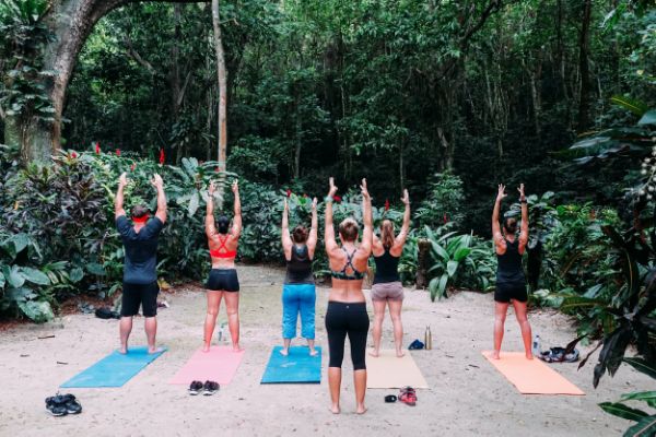 Morning Rainforest Yoga