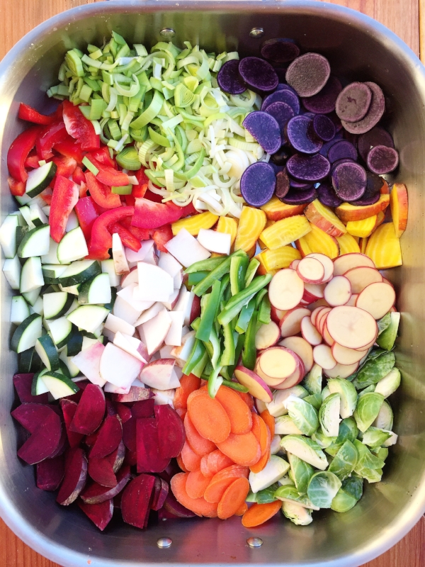 Roasted Veggie Medley