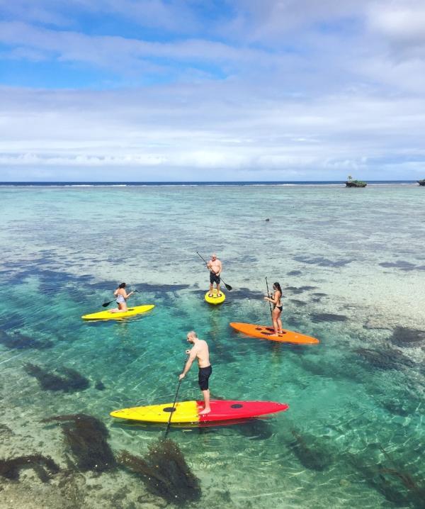 Stand Up Paddle Fiji