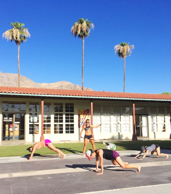 Palm Springs Fitness Retreat