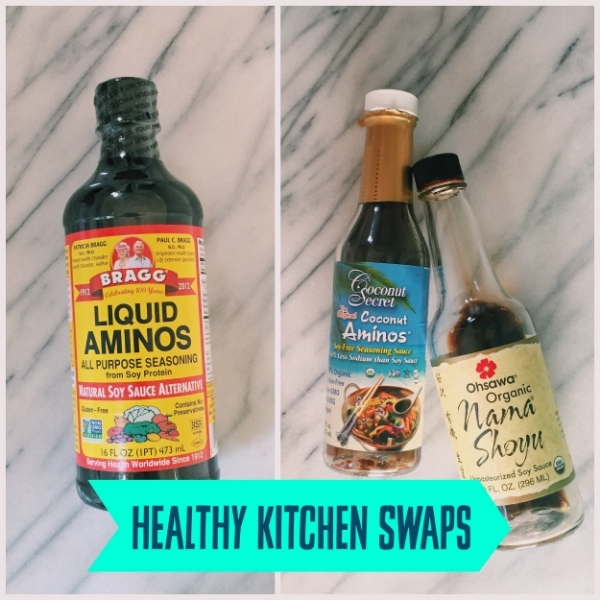 Healthy Kitchen Swap Soy Sauce And Liquid Aminos January Wellness