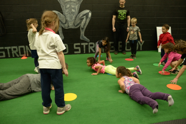 Our first class CrossFit Kids class was a blast. Looking forward to seeing you all on Friday at 4pm.
