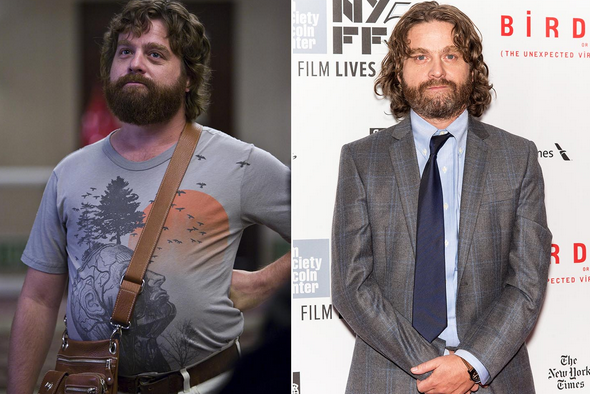 Zach Galifianakis has been drinking Norcal Margaritas recently:)