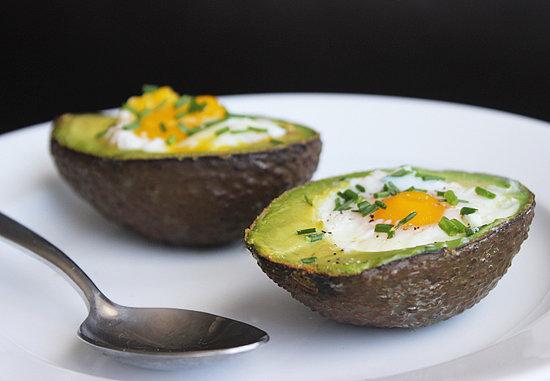 Eggs and Avocado -