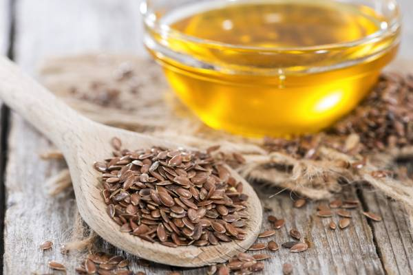 Casein and Flax Seed Oil -