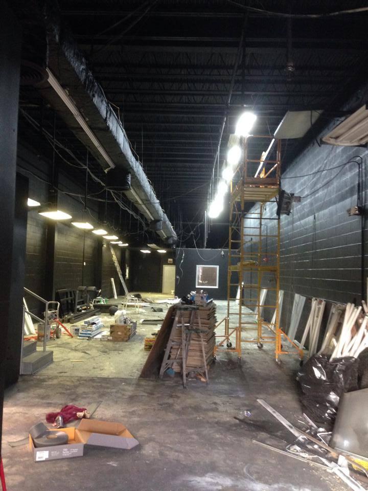 Renovations have begun!