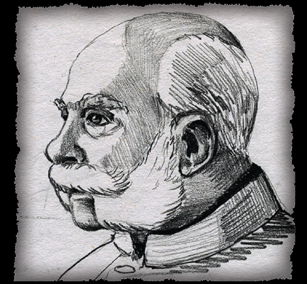 """Franz Joseph I, Emperor of Austria-Hungary """"The Horned Moustache"""""""