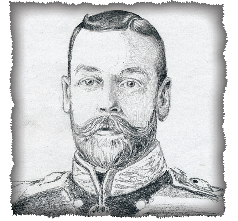 "George V, King of Britain ""The Smoothest Moustache"""