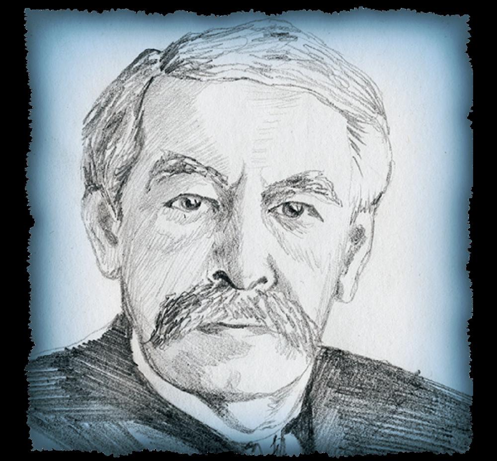 "Aristide Briand, Prime Minister of France ""Moustache Sans Pantalons"""