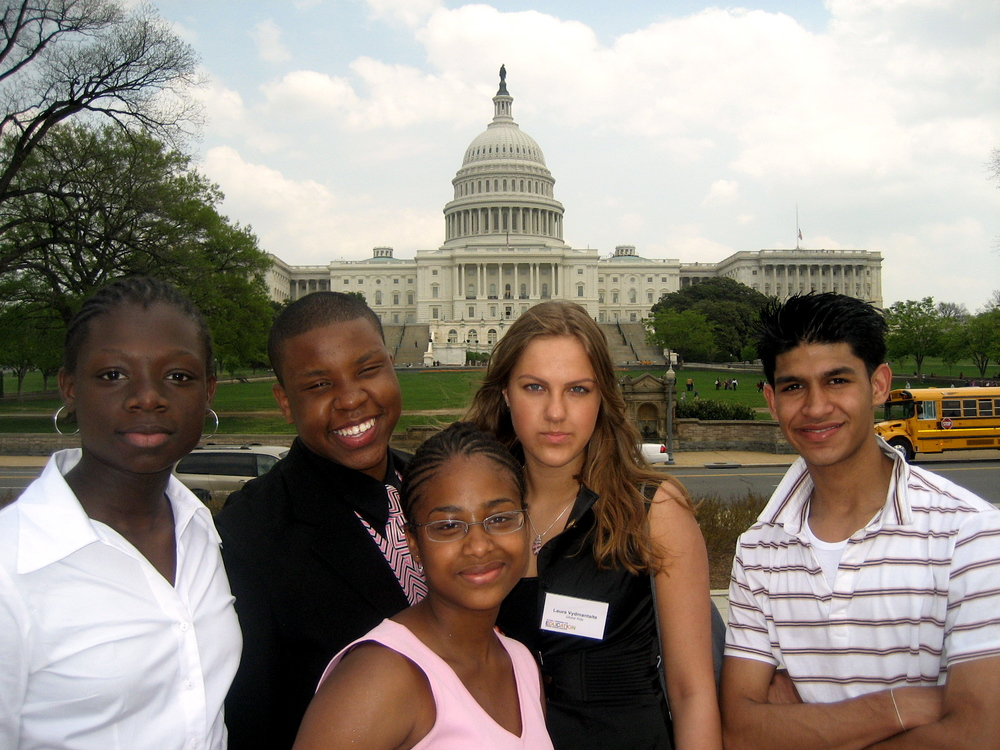youth in front of capitol.JPG