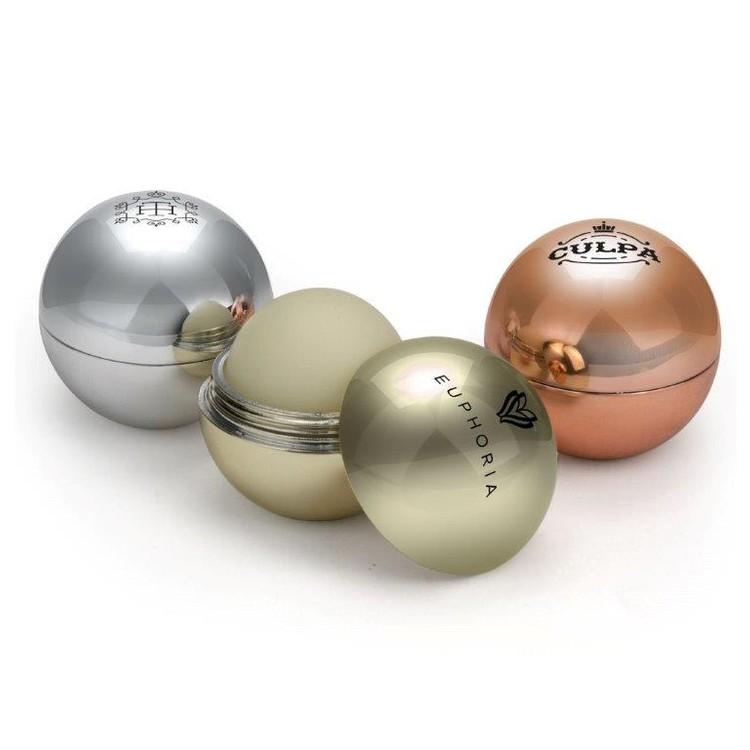 Metallic Imprinted Case Lip Balm