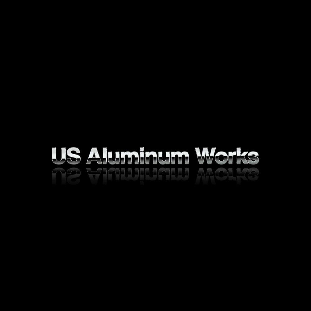 Helv Modern Font Option Budget Logo Express US Aluminum Works Silver black reflection by Brand G Creative 07 OCTOBER 2017.jpg