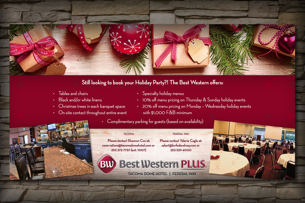 Best Western Plus Tacoma Dome Hotel [60 72] Holiday 2017 Sales and Marketing Card on Stone by Graham Hnedak Brand G Creative 14 NOV 2017.jpg
