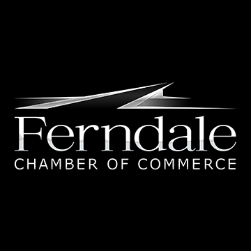 Ferndale Chamber of Commerce [at 20 72] Logo in Silver Black and White [not our work] Brand G Creative 10 NOV 2017.jpg