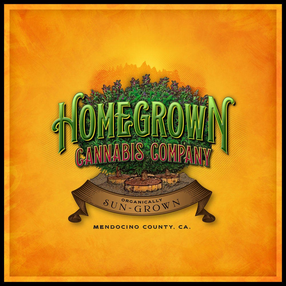 Homegrown Cannabis Company Logo