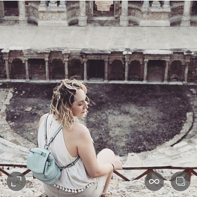 Shot by:@oz.photographs #turkey #pamukkale #travellerlast #travelfeels #instagood #ancienttheatre