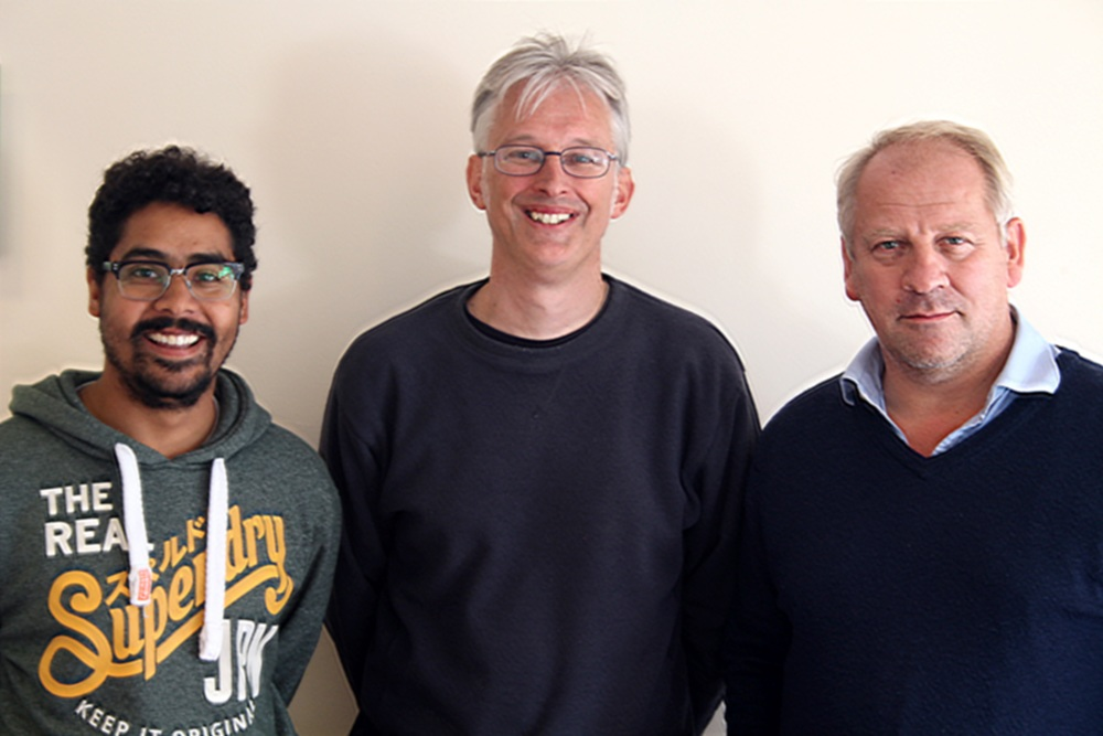 (L-R) Robin Belfield, Jonathan Emmett & Simon Slater
