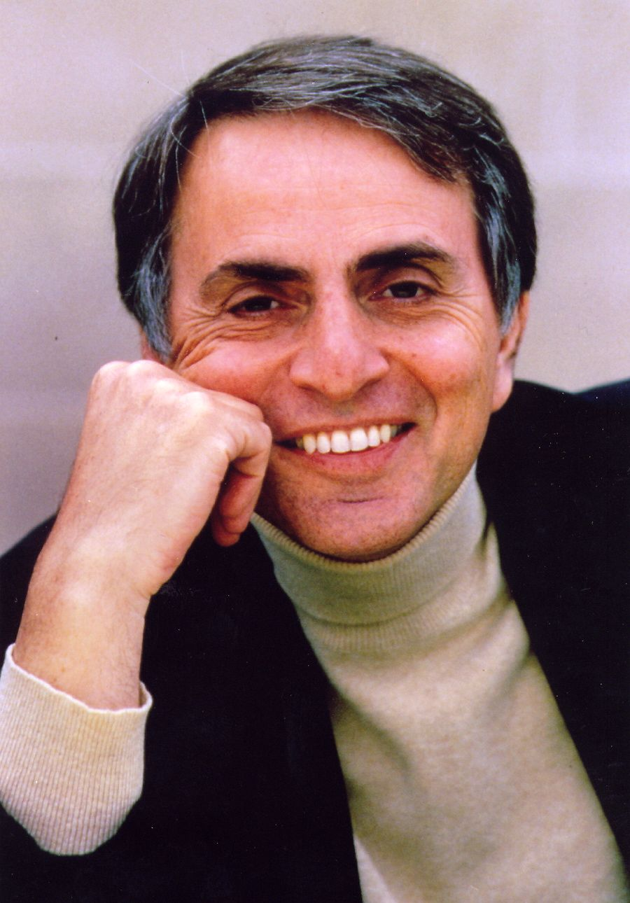 "Carl Sagan author of ""The Demon-Haunted World"" (Link above) ""Extinction is the rule. Survival is the exception."" ― Carl Sagan, The Varieties of Scientific Experience: A Personal View of the Search for God"