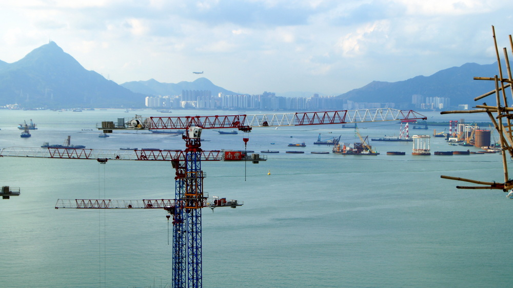 Hong Kong is a never ending construction project.