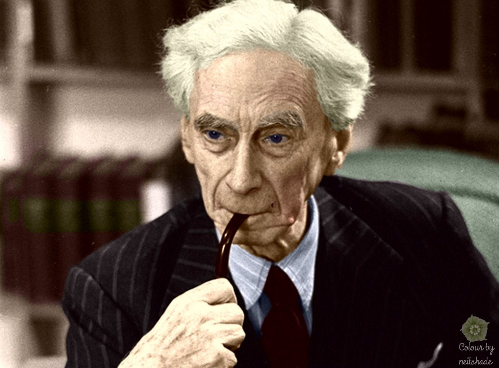 Bertrand Russell: He may not be the most humble of men but he was a true and mature expert.