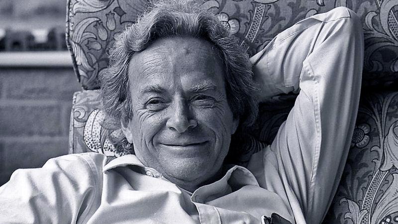 Richard Feynman in 1981