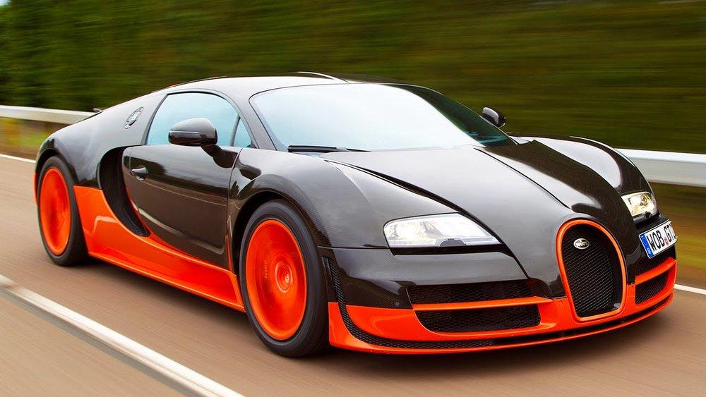 Bugatti Veyron Super Sport, $2,500,000