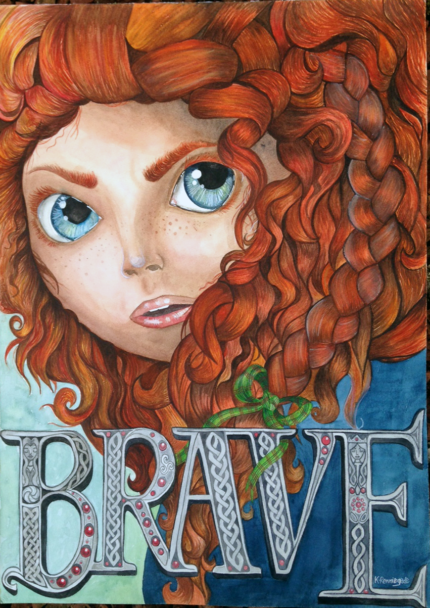 BRAVE- A2 Mixed Media Unframed.jpg