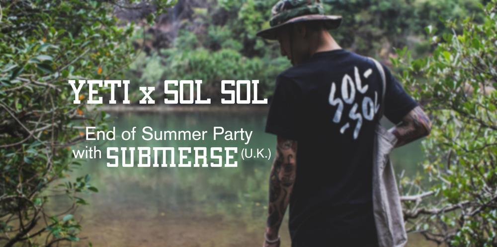 yeti x sol-sol party