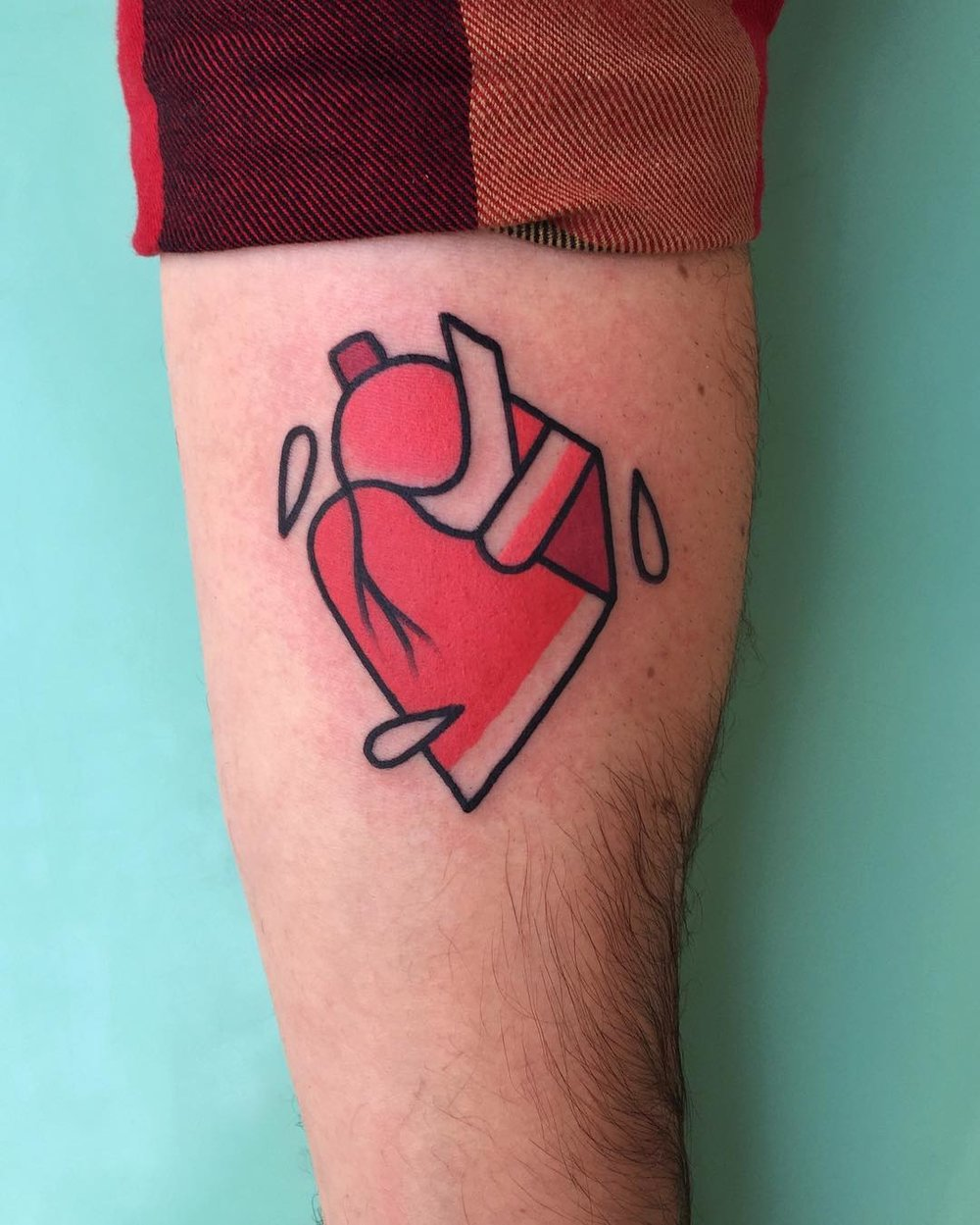 heart tattoo rich phipson