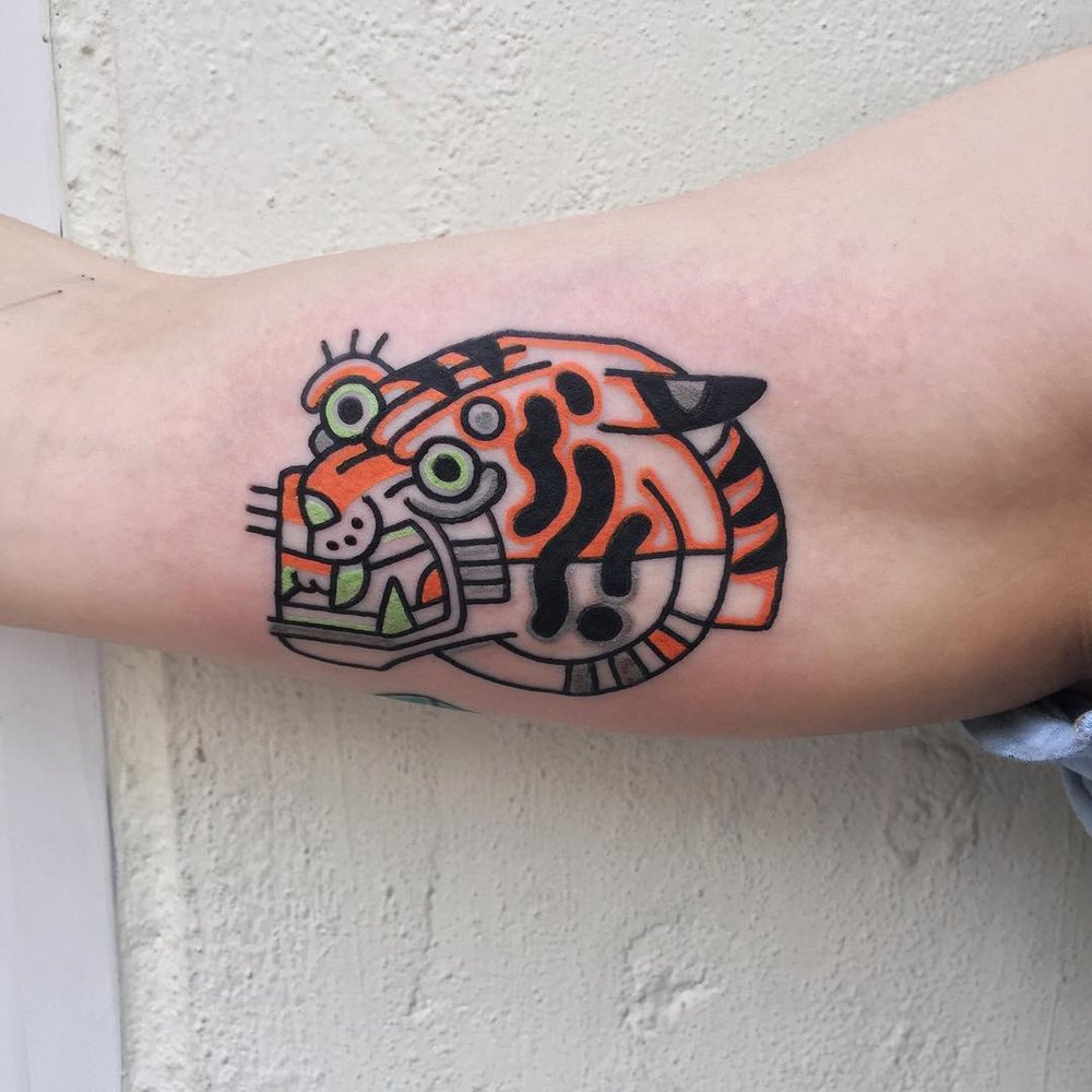 Hong Kong Tattoo By Rich Phipson
