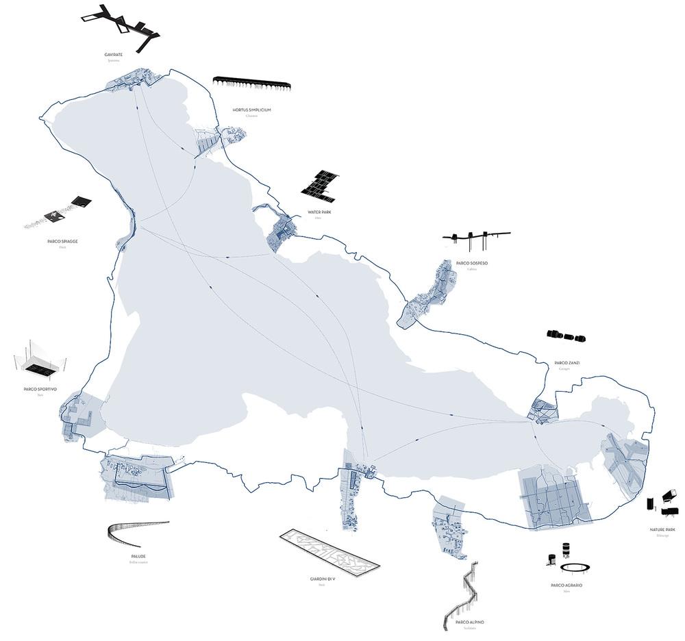 MASTERPLAN VARESE'S LAKE
