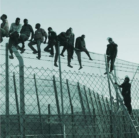 fig.6 Melilla wall